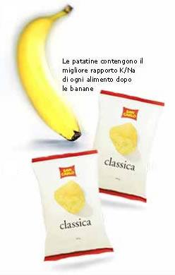 etichetta potassio