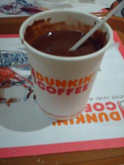cioccolata Dunkin Donuts