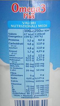 latte Omega3 Plus