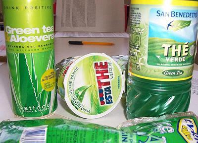 Prodotti a base di tè verde
