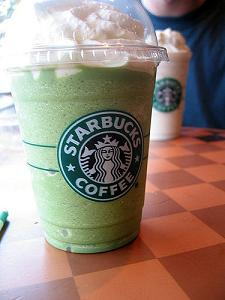 Starbucks Frapuccino green tea