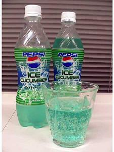 Cucumber Pepsi